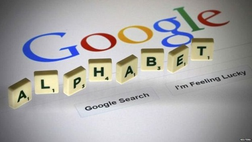 Google shares on Alphabet restucture