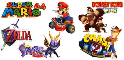 The Best Video Games of the '90s