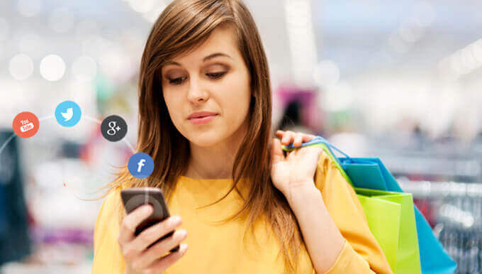 Customers expect brands to talk more with them through social networks