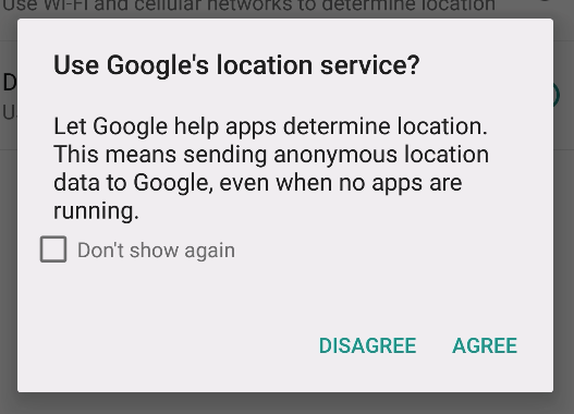 Who uses location services and why