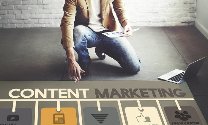 The content of attraction, a key to success in marketing b2b